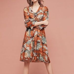 🆕 Anthropologie Zeri Peasent Dress